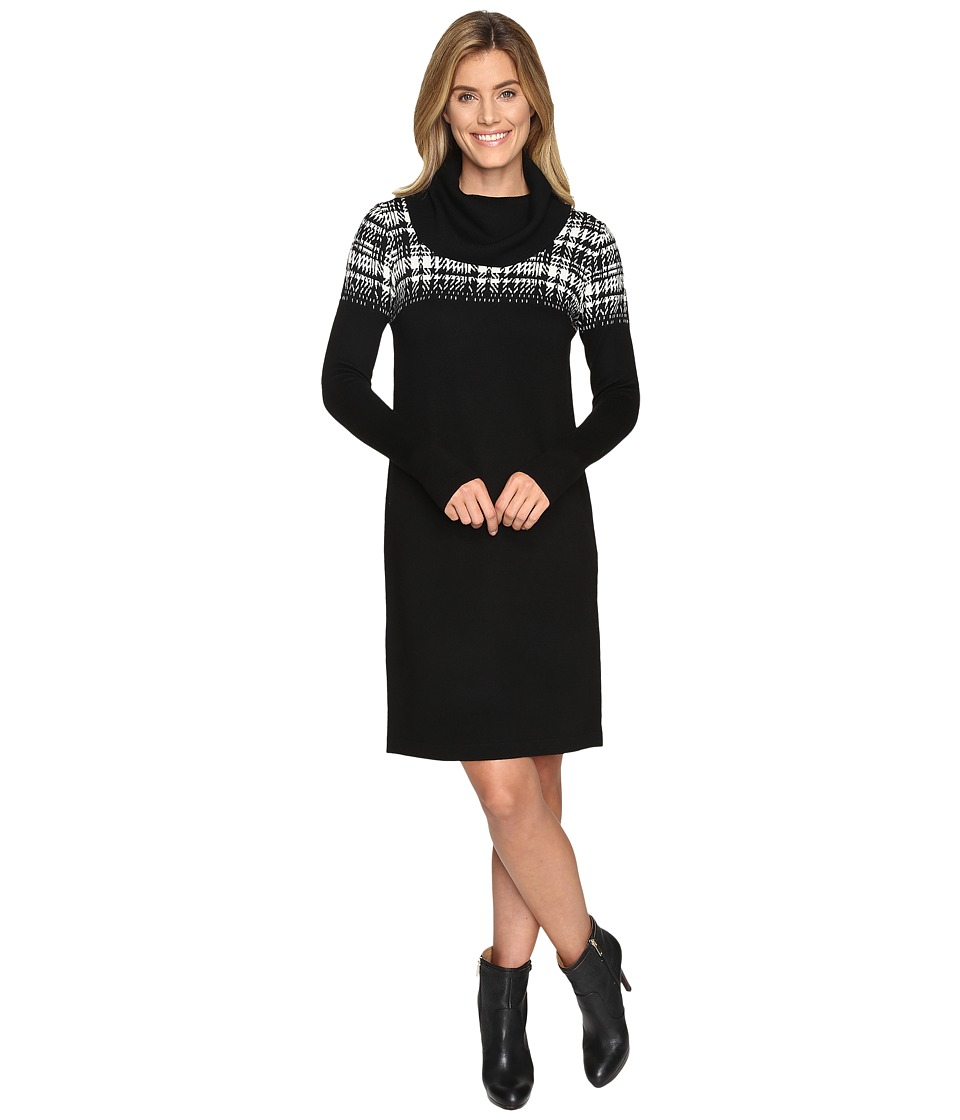 Pendleton - Dundee Sweater Dress (Black Multi) Women's Dress