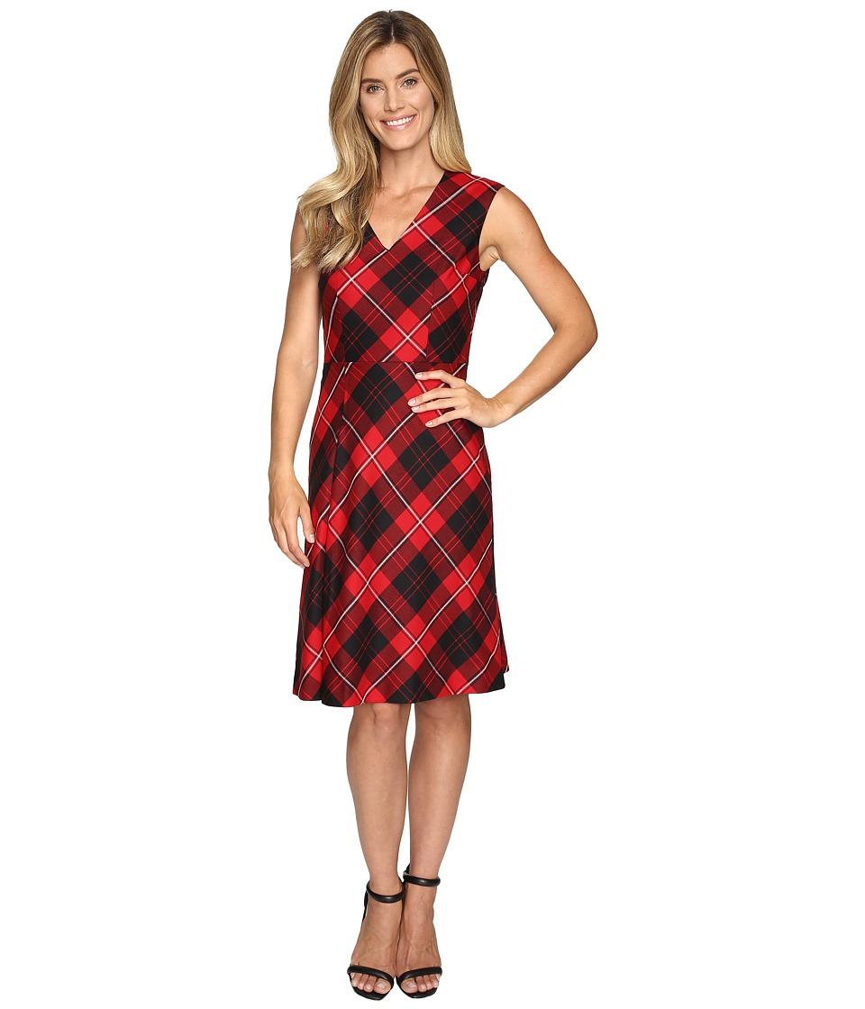 Pendleton - Natalie Plaid Dress (Cunningham Worsted Tartan) Women's Dress