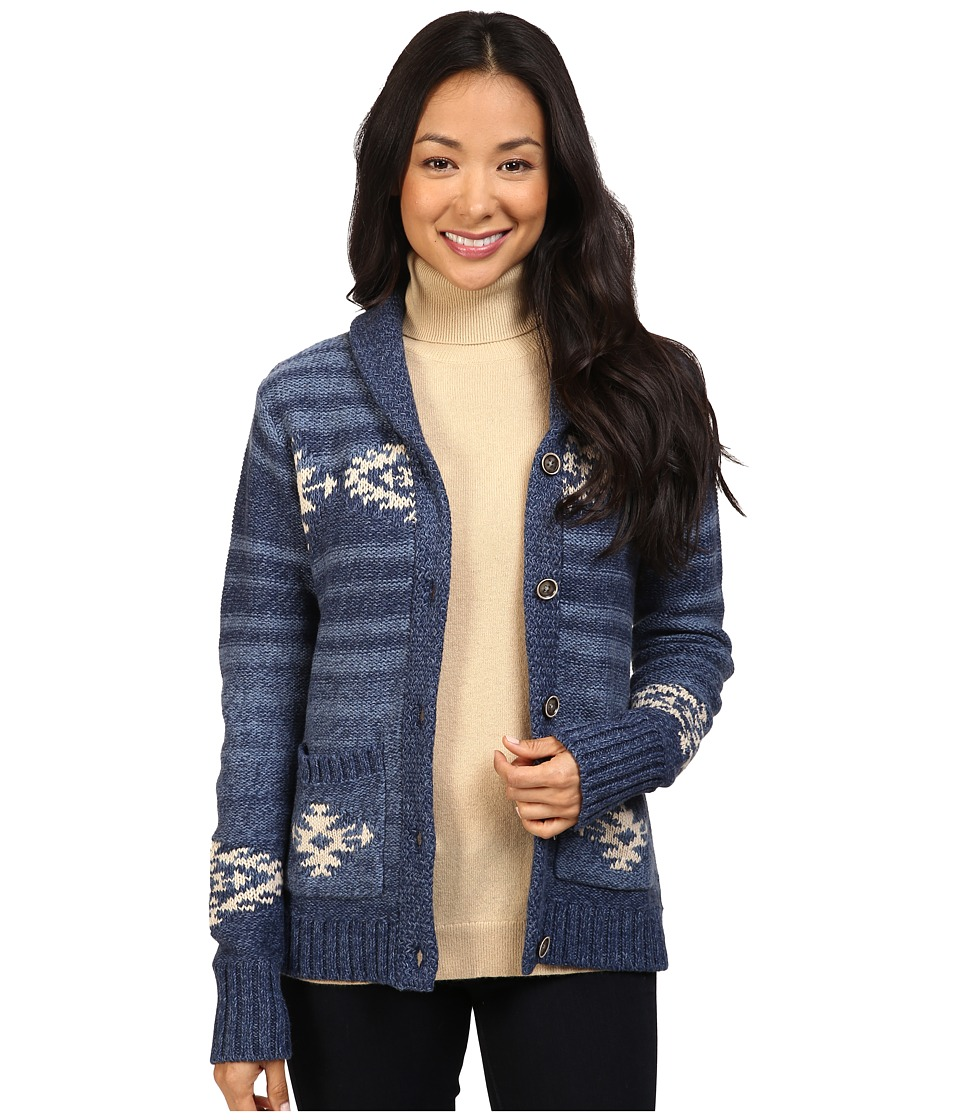 Pendleton - Skyview Cardigan (Denim Multi) Women's Sweater