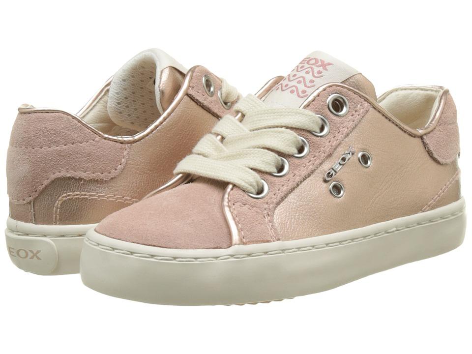 Geox Kids - Jr Kiwi Girl 95 (Toddler/Little Kid) (Dark Rose) Girl's Shoes