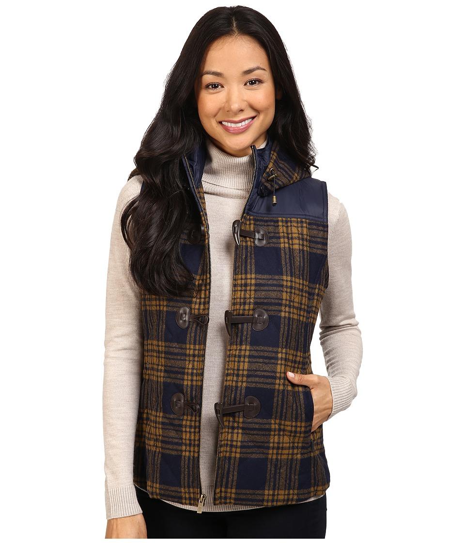 Pendleton - First Frost Vest (Midnight Navy/Gold Menzies Tartan) Women's Vest