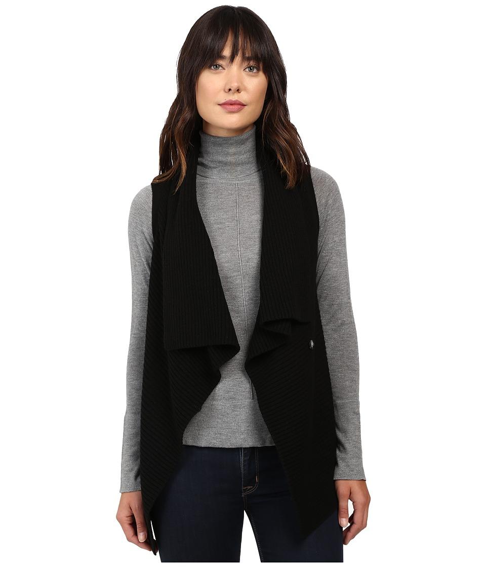 Pendleton - Wrap Vest (Black) Women's Vest
