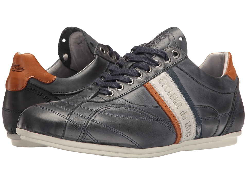 Cycleur de Luxe - Crush City (Navy/Off-White/Cognac/Jeans Blue) Men's Shoes