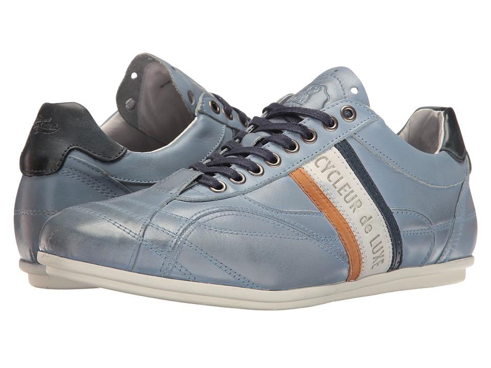 Cycleur de Luxe - Crush City (Jeans Blue/Off-White/Navy/Cognac) Men's Shoes