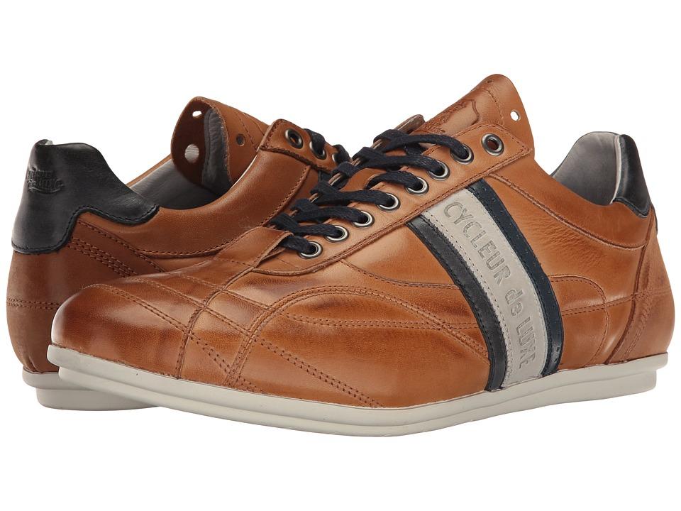 Cycleur de Luxe - Crush City (Cognac/Off-White/Jeans Blue/Navy) Men's Shoes