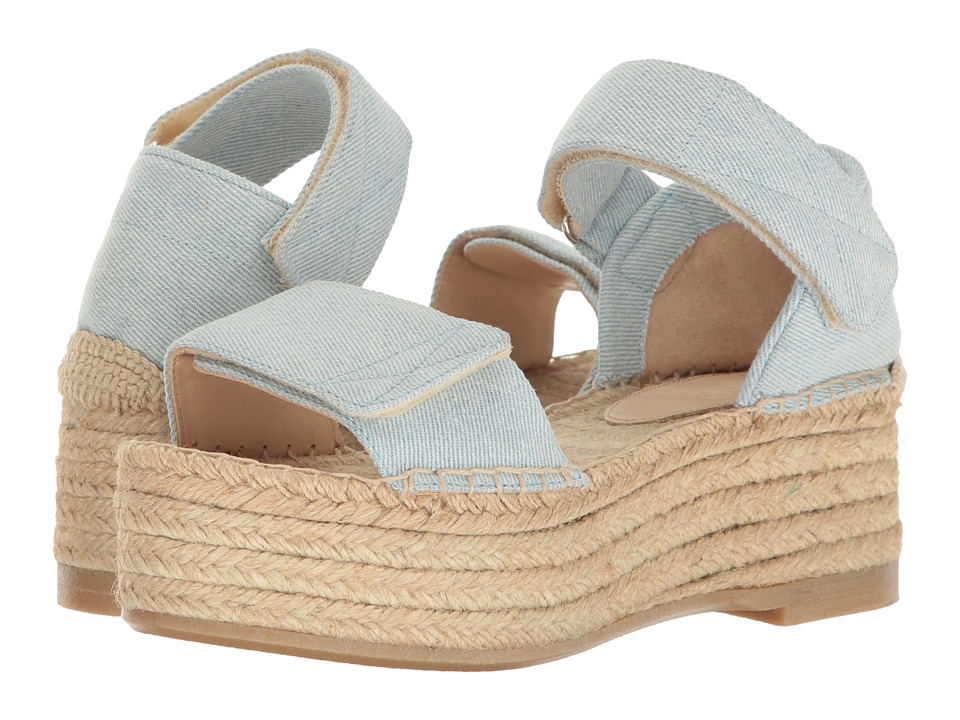 MM6 Maison Margiela - Denim Espadrille (Light Blue Denim) Women's Shoes