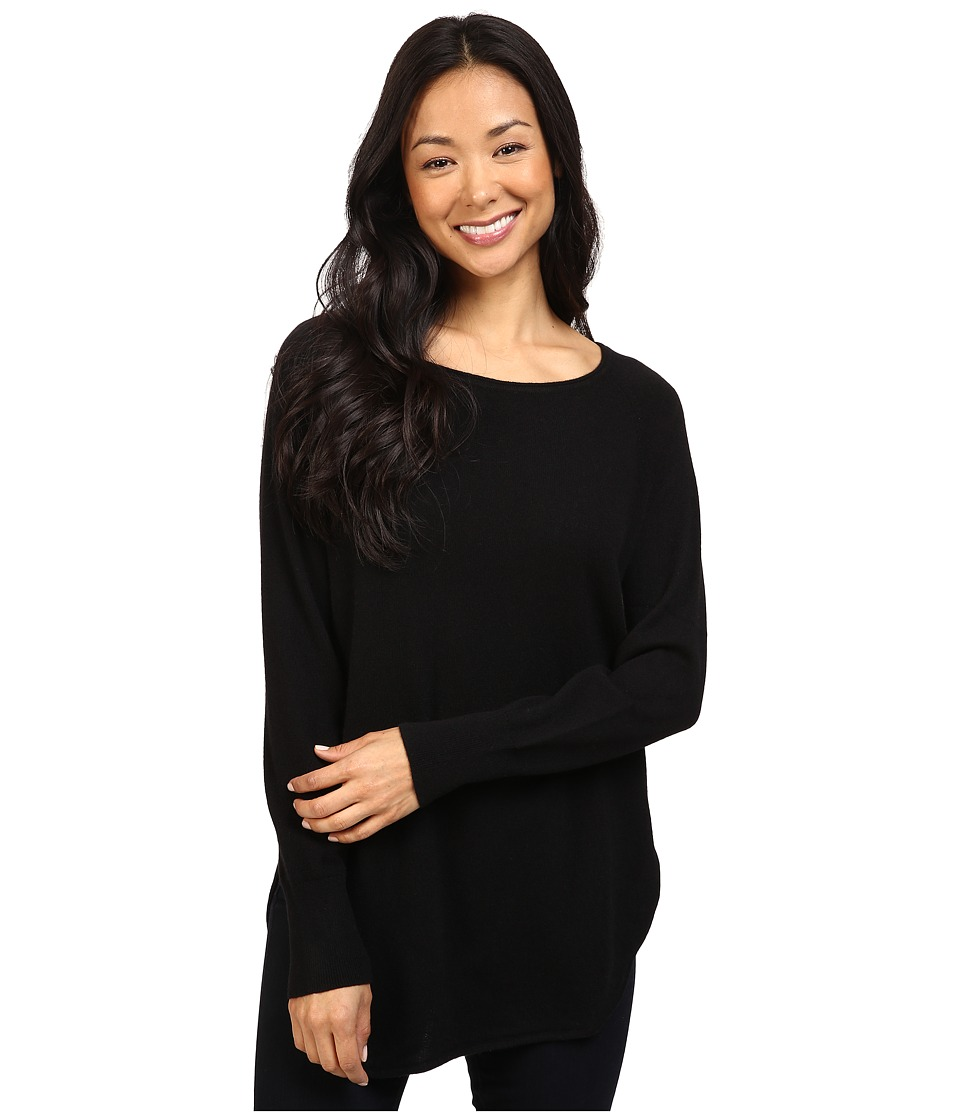 Pendleton - Cashmere Josephine Pullover (Black) Women's Clothing