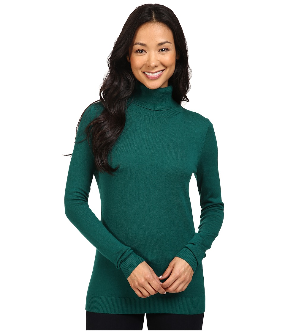 Pendleton - Timeless Turtleneck (Forest) Women's Clothing