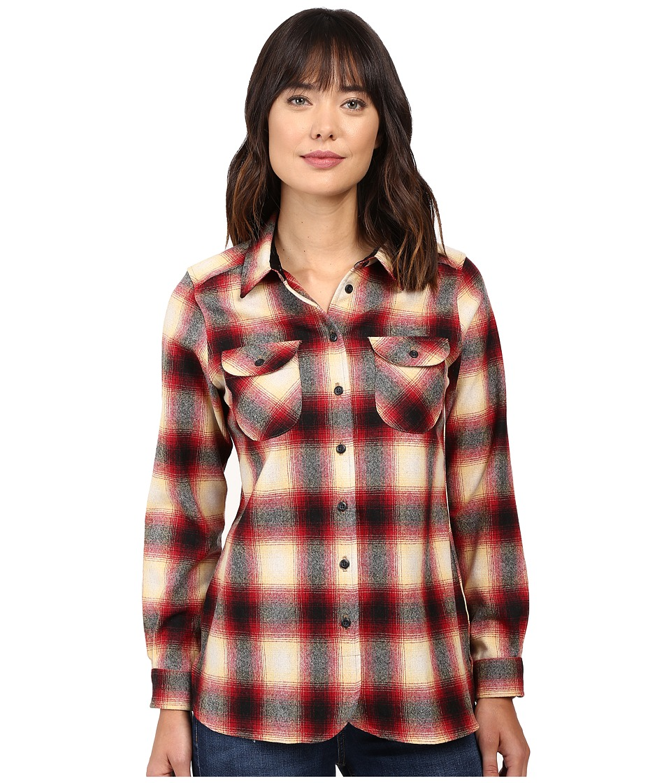 Pendleton - Winslow Shirt (Black/Red Rock Plaid) Women's Clothing