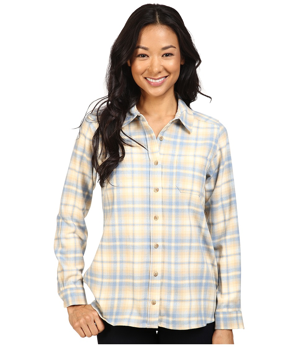Pendleton - Meredith Shirt (Soft Blue Plaid) Women's Clothing