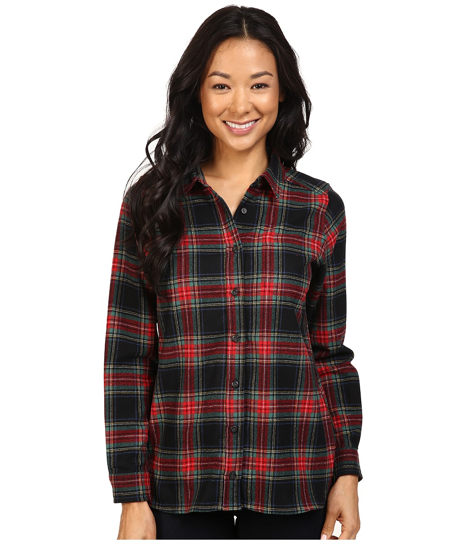 Pendleton - Meredith Shirt (Black Stewart Tartan) Women's Clothing