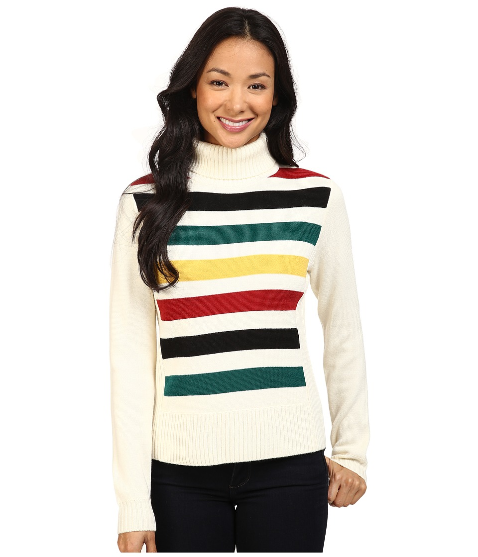 Pendleton - Park Stripe Pullover (Ivory Multi) Women's Sweater