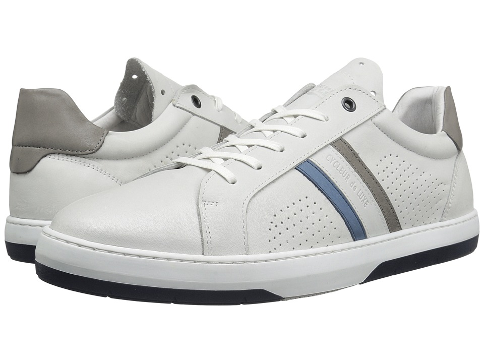 Cycleur de Luxe - Ray (White/Grey/Blue) Men's Shoes