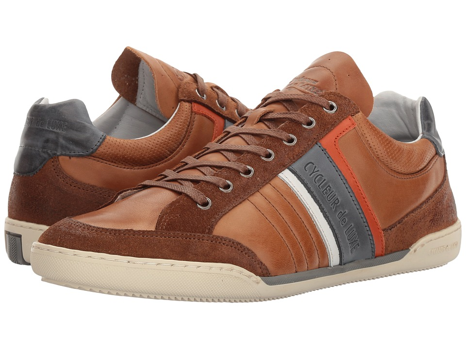 Cycleur de Luxe - Solo (Cognac/Navy) Men's Shoes