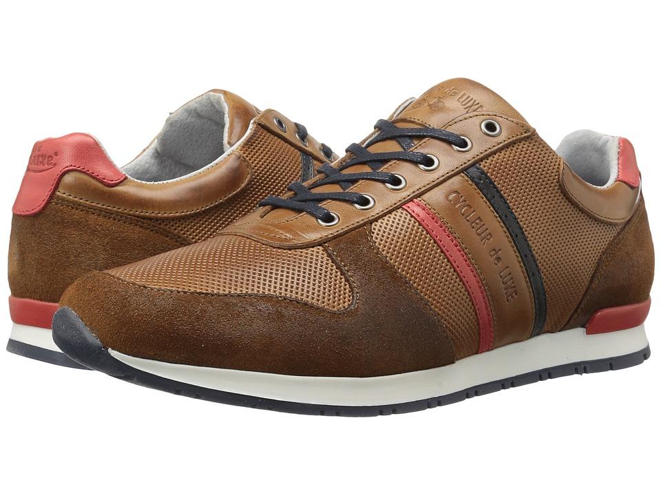 Cycleur de Luxe - Sanremo (Cognac/Indigo/Scarlet) Men's Shoes