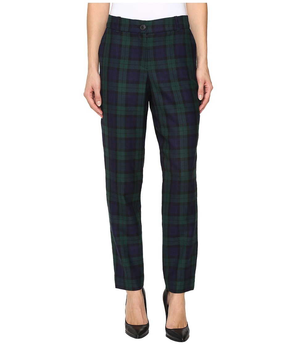 Pendleton - Slim Pants (Black Watch Worsted Tartan) Women's Casual Pants