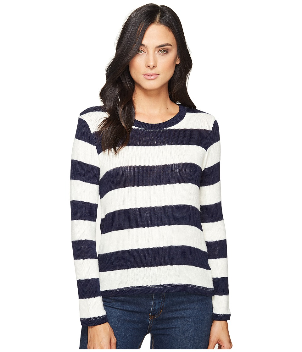 Splendid - Rugby Top (Navy/Natural) Women's Sweater