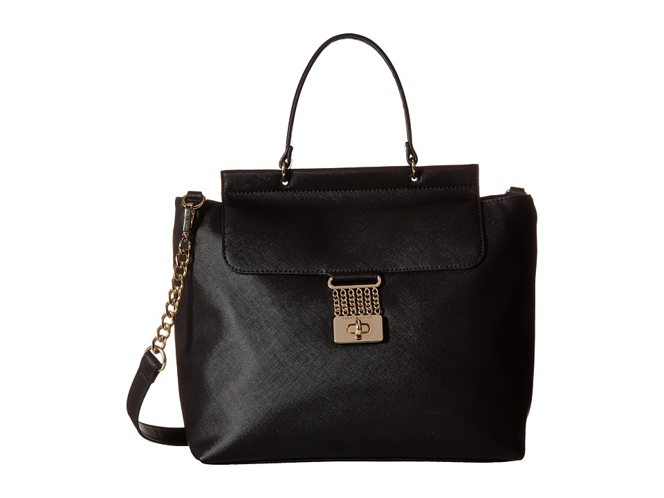 Tommy Hilfiger - Lia Top-Handle (Black) Top-handle Handbags
