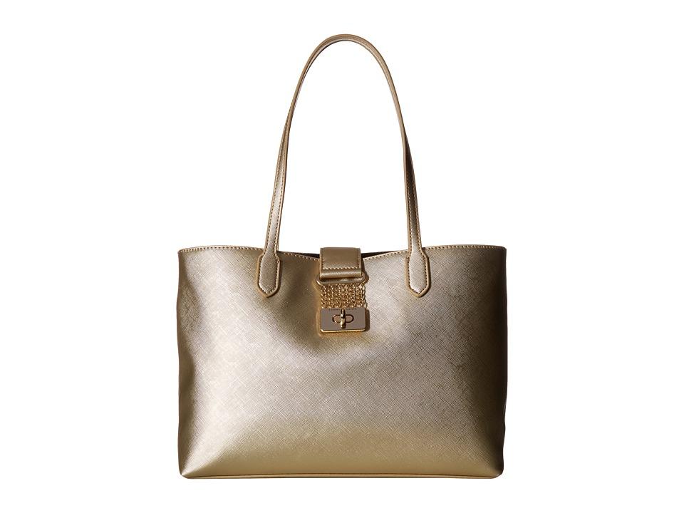 Tommy Hilfiger - Lia Shopper (Gold) Handbags