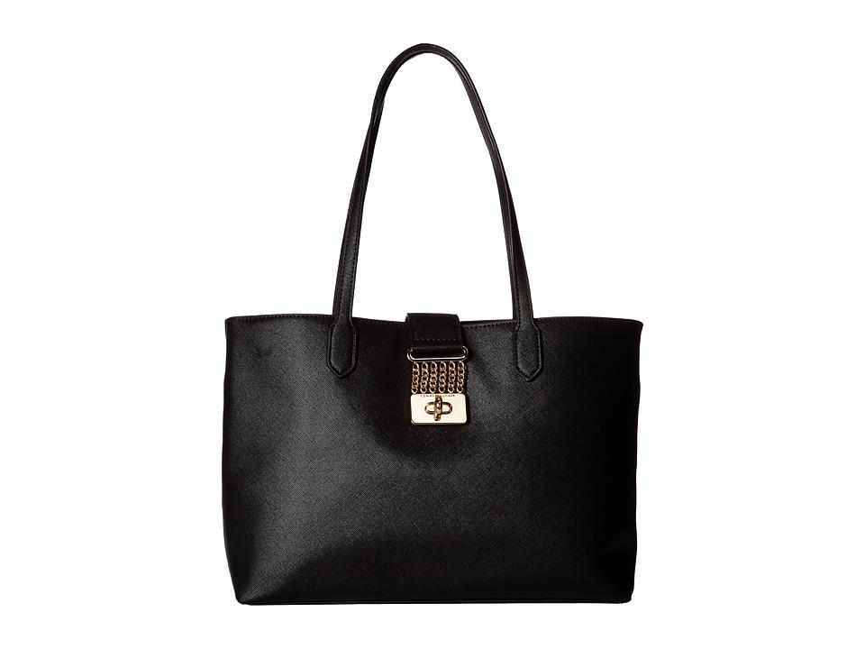 Tommy Hilfiger - Lia Shopper (Black) Handbags