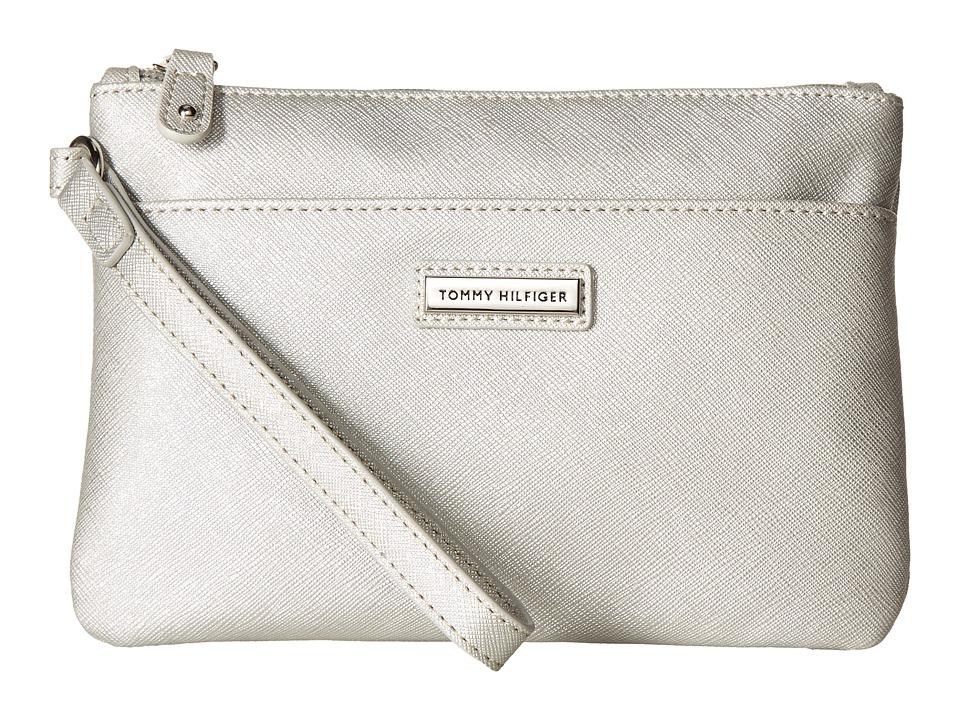 Tommy Hilfiger - Wristlets Wristlet w/ ID (Silver) Wristlet Handbags