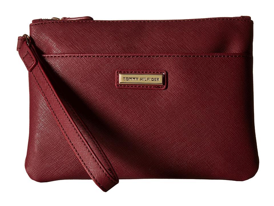 Tommy Hilfiger - Wristlets Wristlet w/ ID (Cabernet) Wristlet Handbags