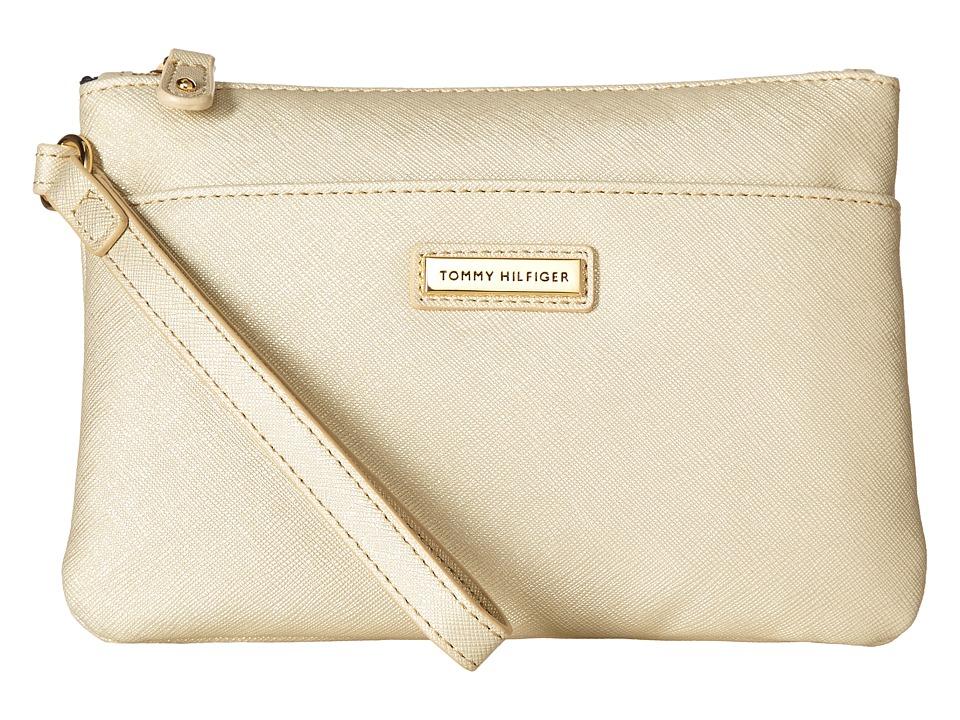 Tommy Hilfiger - Wristlets Wristlet w/ ID (Gold) Wristlet Handbags