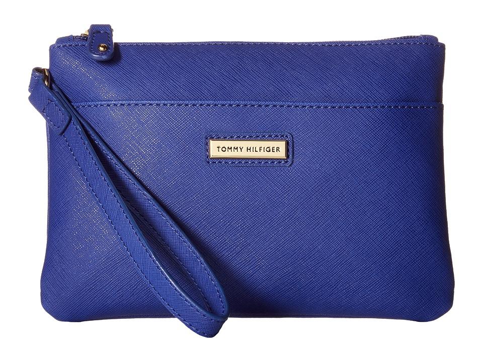 Tommy Hilfiger - Wristlets Wristlet w/ ID (Cobalt) Wristlet Handbags