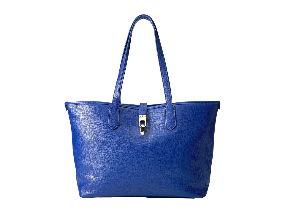 Tommy Hilfiger - Kira Shopper Pebble Leather (Cobalt) Handbags