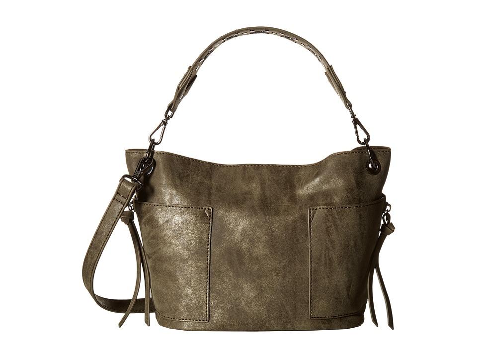 Steve Madden - Mini Koltt (Charcoal) Handbags