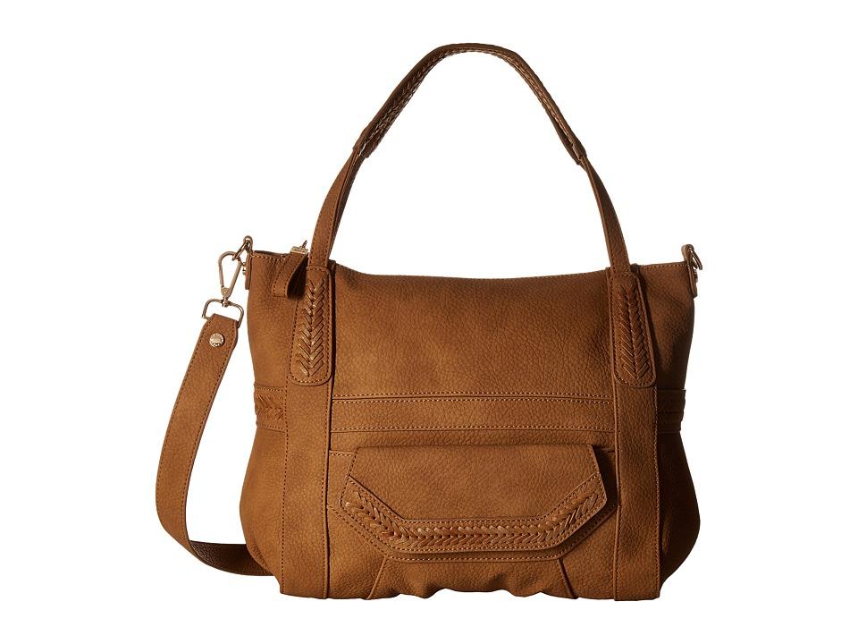 Steve Madden - Distressed Tote (Tan) Tote Handbags