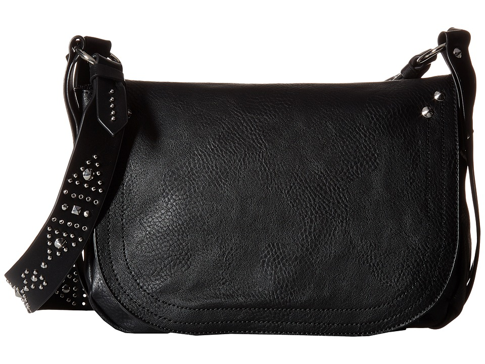 Steve Madden - Long Shoulder (Black) Shoulder Handbags