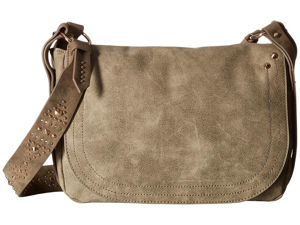 Steve Madden - Long Shoulder (Grey) Shoulder Handbags