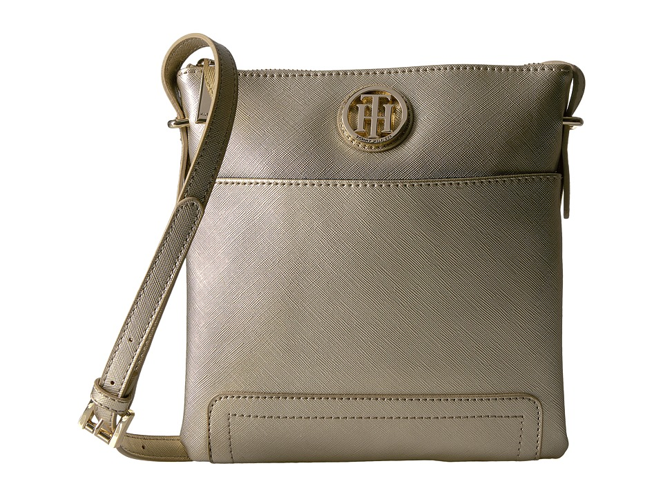 Tommy Hilfiger - Honey North/South Crossbody (Gold) Cross Body Handbags
