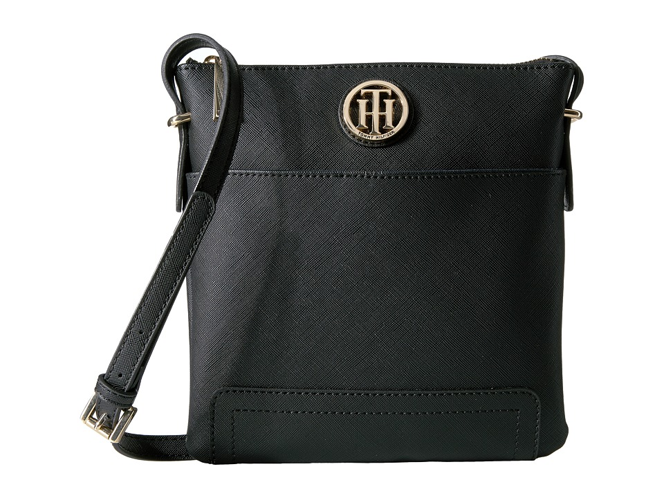 Tommy Hilfiger - Honey North/South Crossbody (Black) Cross Body Handbags