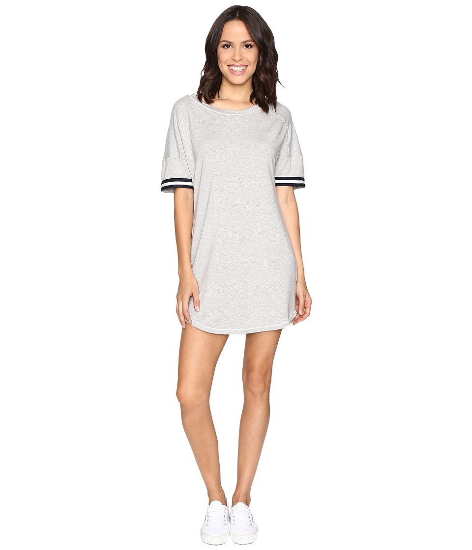 Splendid - Stripe Sleeve Dress (Heather Grey) Women's Dress