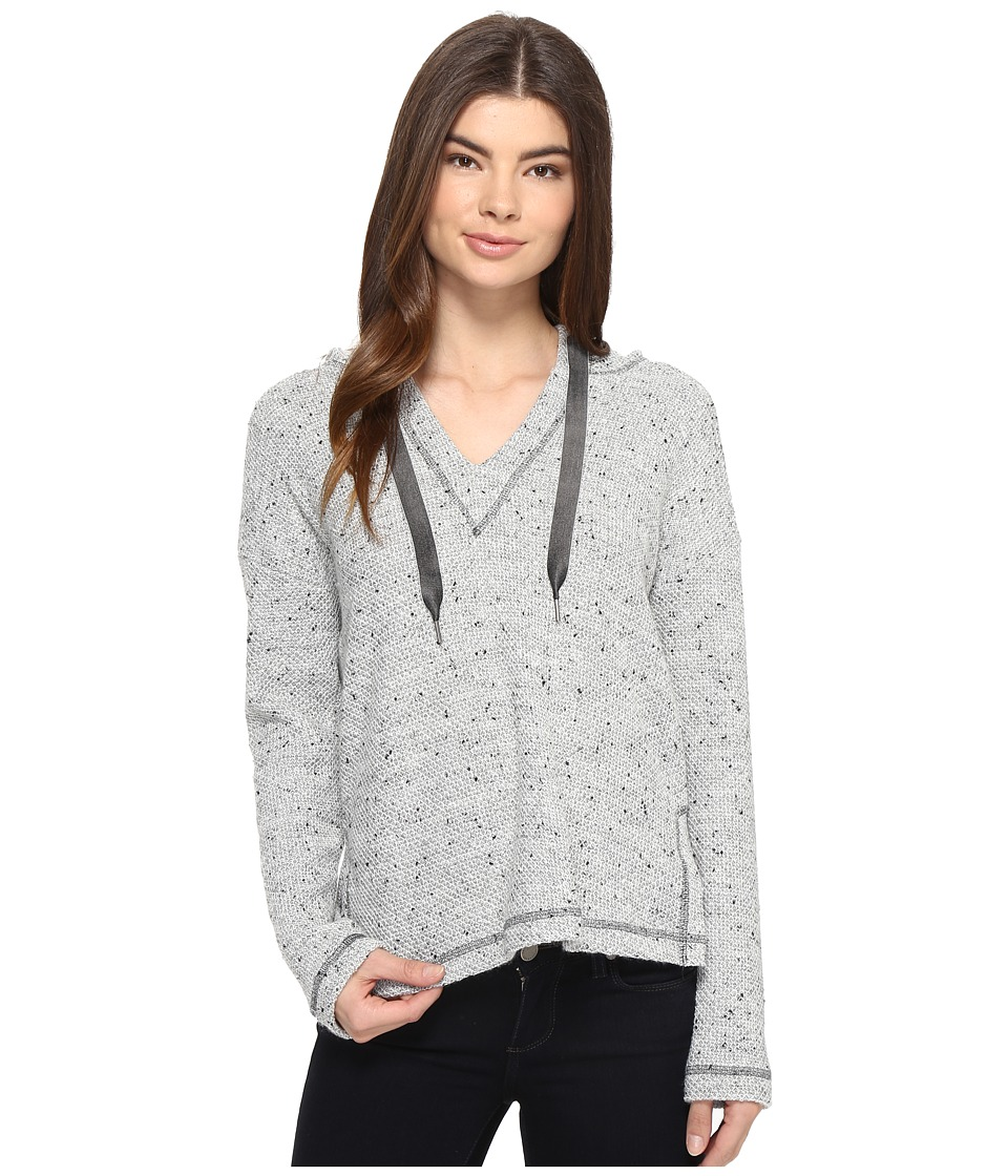 Splendid - Morrow Bay Boxy Hoodie (Heather Grey) Women's Sweatshirt