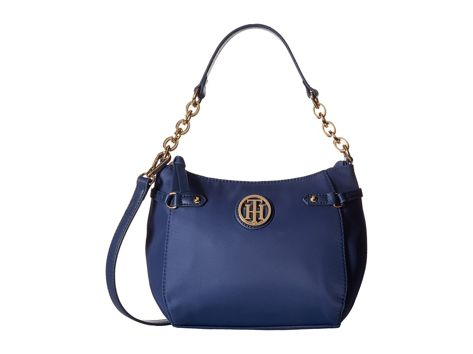 Tommy Hilfiger - Sadie Convertible Crossbody Nylon (Cobalt) Cross Body Handbags