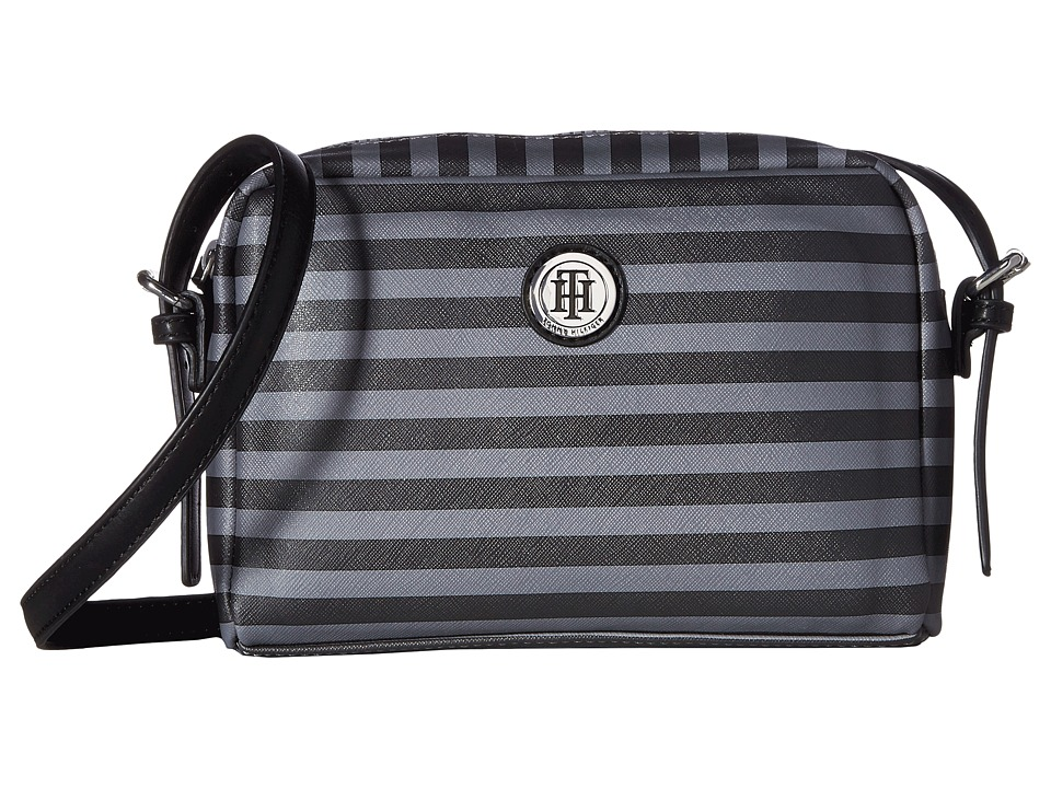 Tommy Hilfiger - Willow II Crossbody (Gray Tonal) Cross Body Handbags