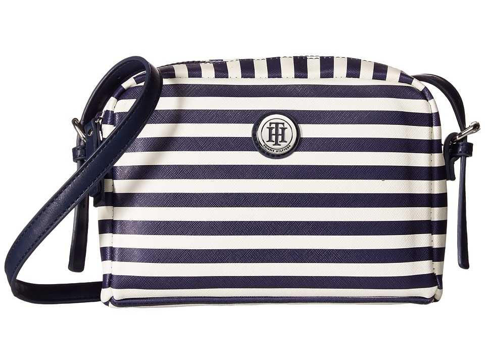 Tommy Hilfiger - Willow II Crossbody (Navy/Cream) Cross Body Handbags