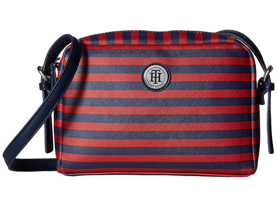 Tommy Hilfiger - Willow II Crossbody (Navy/Red) Cross Body Handbags