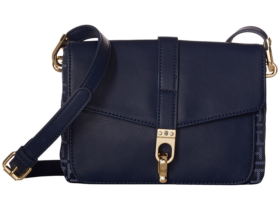 Tommy Hilfiger - Kira Flap Crossbody (Navy/Lapis) Cross Body Handbags