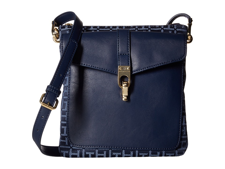 Tommy Hilfiger - Kira North/South Crossbody (Navy/Lapis) Cross Body Handbags