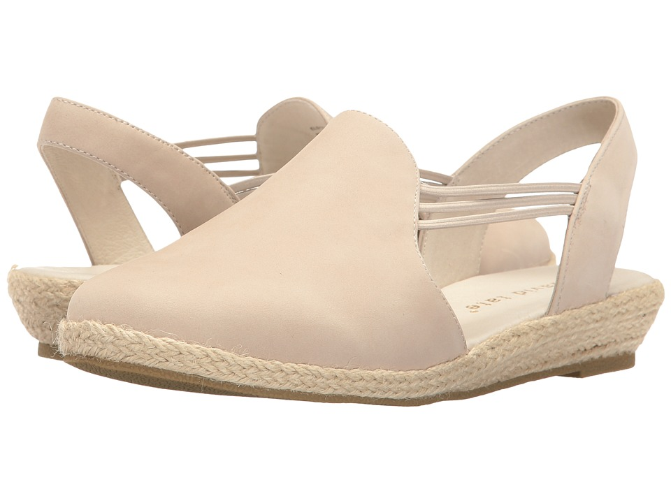 David Tate - Nelly (Bone Nubuck) Women's Sandals