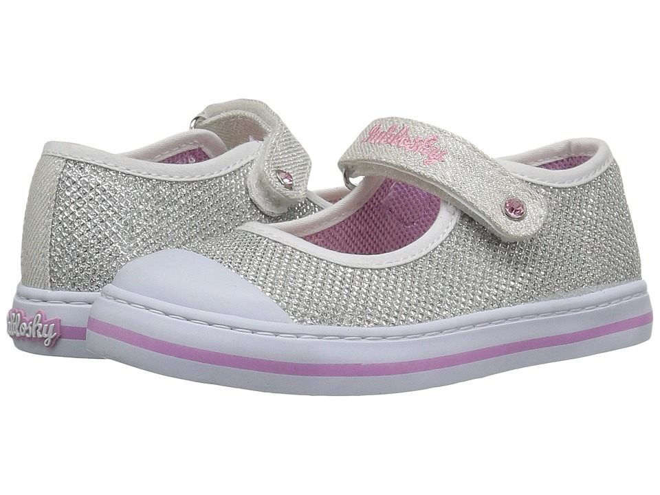 Pablosky Kids - 9395 (Toddler) (White) Girl's Shoes