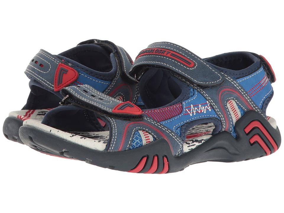 Pablosky Kids - 9334 (Little Kid/Big Kid) (Denim) Girl's Shoes