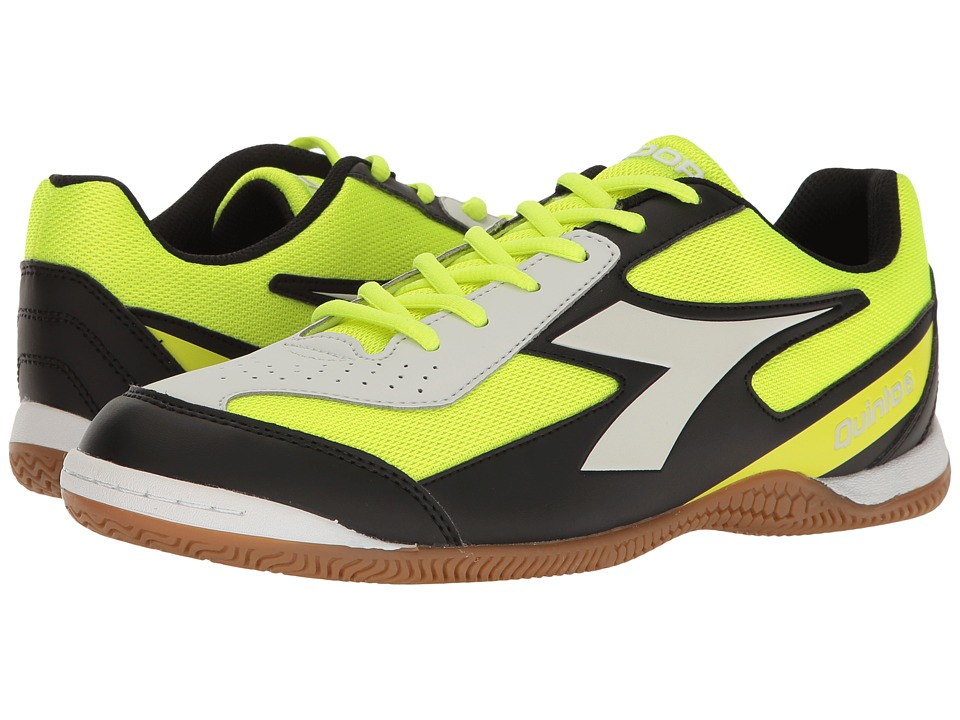 Diadora - Qunito 6 ID (Yellow Fluo/DD Black) Soccer Shoes