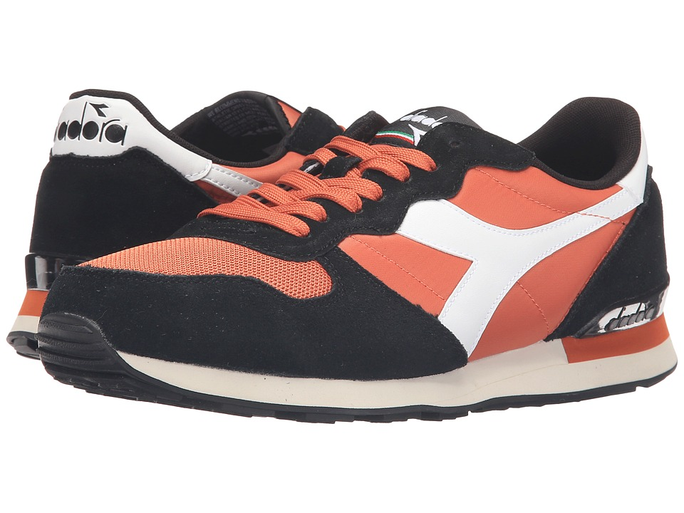Diadora - Camaro (Black/Burnt Orche) Men's Shoes