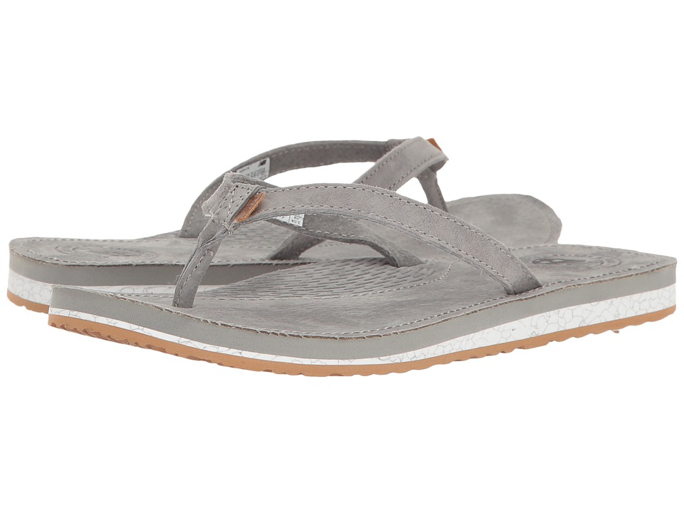 New Balance - Classic Thong (Grey/Gum) Women's Sandals