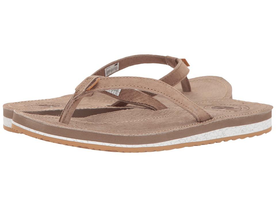 New Balance - Classic Thong (Brown/Gum) Women's Sandals